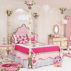 Rosie Sweet Poster Bed - Full