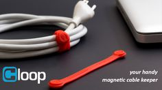 The Most Versatile Magnetic Cable Keeper Available for Cable Management. Get Organized and Stay On-The-Go with Cloop!