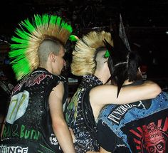 Punk from behind by cunningsue, via Flickr