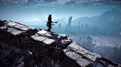 [screenshot] After 40 hours of playing Zero Dawn here are a couple of my favorite screenshots I took. #Playstation4 #PS4 #Sony #videogames #playstation #gamer #games #gaming