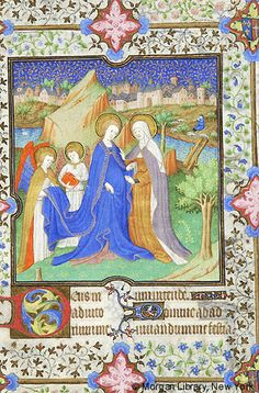 Book of Hours, MS M.1004 fol. 33r - Images from Medieval and Renaissance Manuscripts - The Morgan Library & Museum