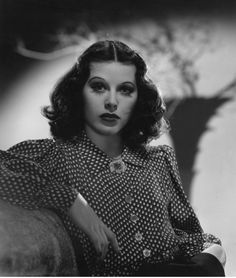 """This is the face that Austrian-born American actress and inventor Hedy Lamarr would make when she gave no fucks, which is to say, the face she made every single day. She invented """"frequency hopping"""" technology, which was put to use in a secret communications system and in radio-controlled torpedoes in WWII, which in turn laid the foundations for future technological developments such as Wi-Fi and GPS. She was also a movie star."""