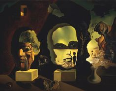 The Dali  Exhibits  Collection Highlights  Old Age, Adolescence, and Infancy (The Three Ages)  1940