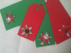 Make your own gift tags.  make the from scratch or get a DIY craft kit to help you along. A great craft for the whole family to do over the Thanksgiving break. #teen #family #Holiday craft http://www.wildaboutcrafts.com/collections/holiday-paty-crafts