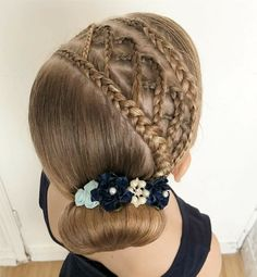 Pin on HairStyles Pin on HairStyles Baby Girl Hairstyles, Dance Hairstyles, Pretty Hairstyles, Braided Hairstyles, African Natural Hairstyles, Beautiful Braids, Toddler Hair, Great Hair, Hair Inspiration