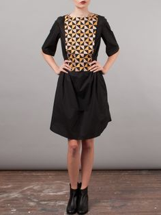 Frances May - Suno Quilted Panel Dress