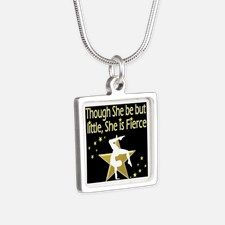 FIERCE GYMNAST Silver Square Necklace Calling all Gymnasts! Be inspired with our beautiful selection of personalized Gymnastics Jewelry  http://www.cafepress.com/sportsstar/10114301 #Gymnastics #Gymnast #WomensGymnastics #Lovegymnastics #Personalizedgymnast #Gymnastjewelry