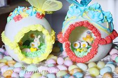 For Easter desserts 2019 these funny and cute Easter desserts recipes are the best. Choose from from Peep desserts to egg nest desserts to Easter cupcakes. Cute Easter Desserts, Easter Cupcakes, Easter Treats, Easter Recipes, Easter Food, Easter Cookies, Easter Brunch, Easter Table, Dessert Recipes