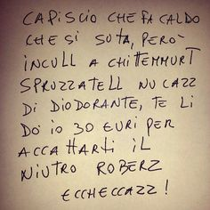 Foto e immagini di Scritte Sui Muri | Dillo con parole tue - Pubblicato in: Problemi personali - Autore: Undici - Data: 17 dicembre 2014 Funny Phrases, Funny Times, Tabu, Always Smile, Zodiac Quotes, Wall Quotes, Good Mood, Make You Smile, Comedy