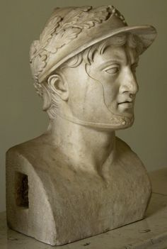 Portrait herm of Pyrrhus of Epirus. Marble. After an original ca. 290 BCE. Inv. No. 6150. Naples, National Archaeological Museum