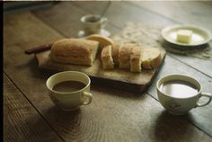 Coffee: I don't know if I want the coffee or the bread more...