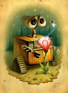 Wall-E. Probably my favorite Pixar movie.