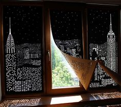 These Blackout Curtains Will Transform Your Windows Into A Spectacular Night Cityscape