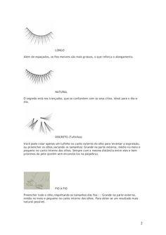 apostila alongamento de cilios Lashes, Beauty, Pasta, Business, Makeup, Make Up Remover, Eyebrow Tips, Eyelash Tips, Perfect Eyelashes