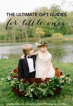 The Ultimate Gift Guides for Flower Girls & Ring Bearers