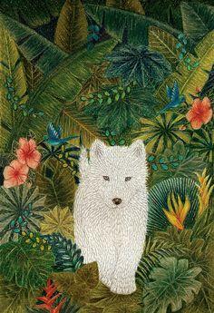 ♞ Artful Animals ♞ bird, dog, cat, fish, bunny and animal paintings - Florencia Delboy