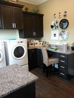Laundry Room / Office Combination