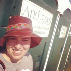 """This is my #endoftheroadfestival @andyloosltd #sanitationselfie  The portaloo company here is running a competition to win festival tickets by sharing a…"""