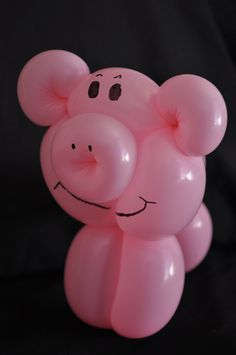 Pig, Just another awesome balloon animal   @Sara Gullickson  tell K I want one of these