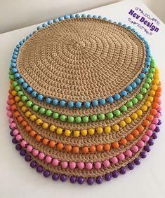 Best 12 Natural Jute Twine Rope Cord, Non-Polished Gift Wrap, Packaging, eco-friendly hemp yarn 100 g 55 Crochet Home Decor, Crochet Crafts, Crochet Projects, Crochet Beanie, Crochet Baby, Free Crochet, Crochet Flower, Chrochet, Knit Crochet