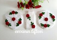 795 Likes, 38 Comments - Çeyiz Crochet Motif, Crochet Hats, Animals And Pets, Pot Holders, Diy And Crafts, Wool, Christmas Ornaments, Knitting, Holiday Decor
