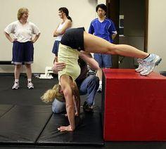 Crossfit handstand pushup progression