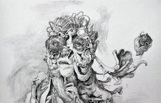 Juxtapoz Magazine - Best of 2013: The Sketchbook of Anton Vill