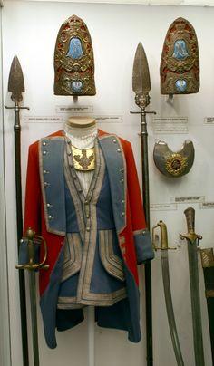 reko-mundur oficera grenadierów regimentu gwardii pieszej koronnej ca.1732