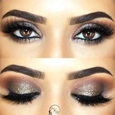 + Hottest Smokey Eye Makeup Ideas 2018 ★ See more: http://glaminati.com/sexy-smokey-eye-makeup/ #weddingmakeup #eyemakeupsmokey