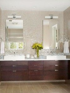 mosaic glass tile backsplash Love it