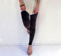 Chocolate Velvet Leggings!