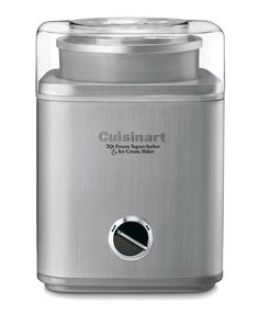 The Cuisinart ice-30BC is a small appliance with the power to create sorbet, ice-cream, and yogurt.