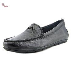 Coach Mary Lock Up Femmes US 8 Noir Chaussure Plate - Chaussures coach (*Partner-Link)