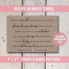 recipe card bridal shower printable game gold glitter bridal shower confetti bachelorette wedding shower bs88 game cards and recipe cards
