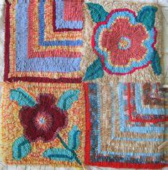 Cassie Stephens: rug hooking
