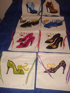 Bolsa para guardar los zapatos