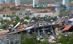 09/15/2016 - 2 dead after powerful typhoon sweeps through China, Taiwan