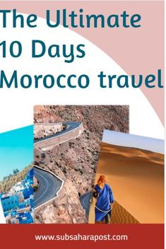Planning to take a trip in Morocco ? This 10 day Morocco plan will show you the best of the place! 10 days in Morocco |Here you'll learn about Africa travel,Africa travel destinations, Africa travel guide,Africa travel beautiful places & Africa travel photography. #travelafrica #africatravel #travelsouthafrica #africantravel #traveltoafrica #travelinafrica #travellingsouthafrica #africangirlstravel Best Holiday Destinations, Vacation Destinations, Morocco Travel, Africa Travel, Travel Hacks, Travel Guide, New Africa, Ultimate Travel, Travel Aesthetic