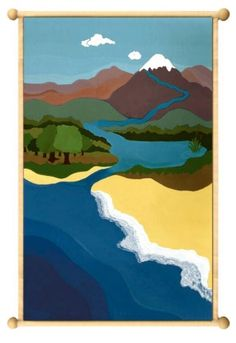 Kathy's Montessori Life: Lovely Landforms - GREAT LAND FORM RESOURCES!