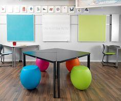 The flexible classroom - galleri - Nordisk Skoletavle Fabrik