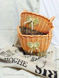 Поделка изделие Плетение Ярмарка Осень  Бумага газетная Трубочки бумажные фото 12
