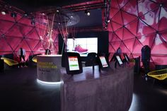 Nulty - Flyknit Experience - Temporary Brand Exhibition Merchandise Light Colour Texture | Finalist Lighting Design Awards 2014