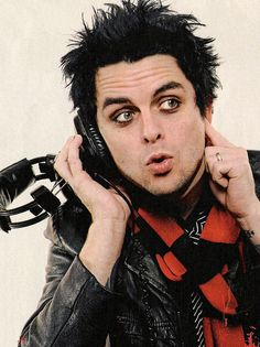 Billie Joe Armstrong...I'd marry him if he weren't already married. Basically he is pure awesome.