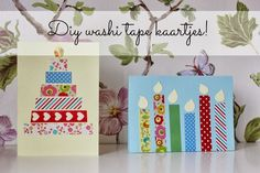 ideas birthday card diy kids washi tape for 2019 Christmas Paper Crafts, Diy Christmas Cards, Xmas Cards, Handmade Christmas, Washi Tape Cards, Washi Tape Diy, Birthday Crafts, Handmade Birthday Cards, Paper Cards
