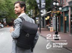 Lifepack Hustle: Solar + Anti-theft backpack & shoulder bag by Solgaard Design — Kickstarter