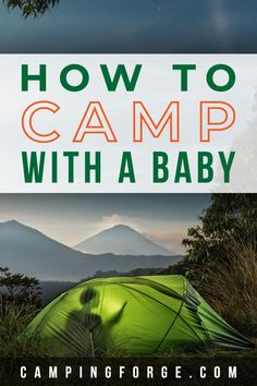 If you want to keep camping even with a baby then read this article to see how. Camping Essentials List, Camping Supply List, Camping List, Camping Guide, Diy Camping, Camping Checklist, Camping Hacks, Tent Camping, Outdoor Camping