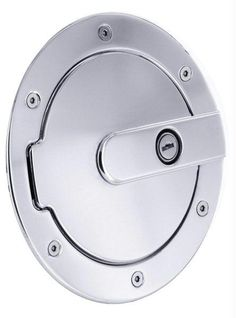 All Sales Race Style Billet Fuel Dr 7 Ring O.D. 5 1-8 Door O.D.-Polished locking