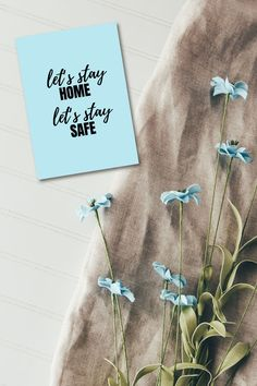 Lets Stay Home, Stay Safe, Motivational Cards, Kind Reminder, Words Of Comfort, Mac Makeup, Staying Positive, How To Stay Healthy, Bujo