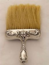 Antique Victorian Sterling Clothes/Hat Brush. Attributed to Kirk. 1868-1900.
