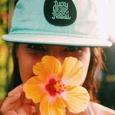 @daynjahh styling in our new LWLH seafoam SnapBack  More colors online. Tap to find the retailer list. : @micahcamara #adventurewithLWLH #luckywelivehawaii